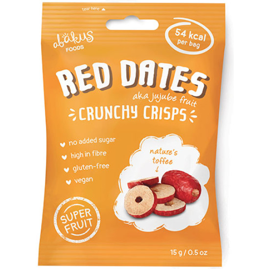 Abakus Red Dates Crunchy Crisps