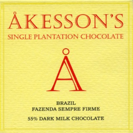 Akesson's Brazil 55% Dark Milk