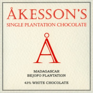 Akesson's Madagascar 43% White Chocolate