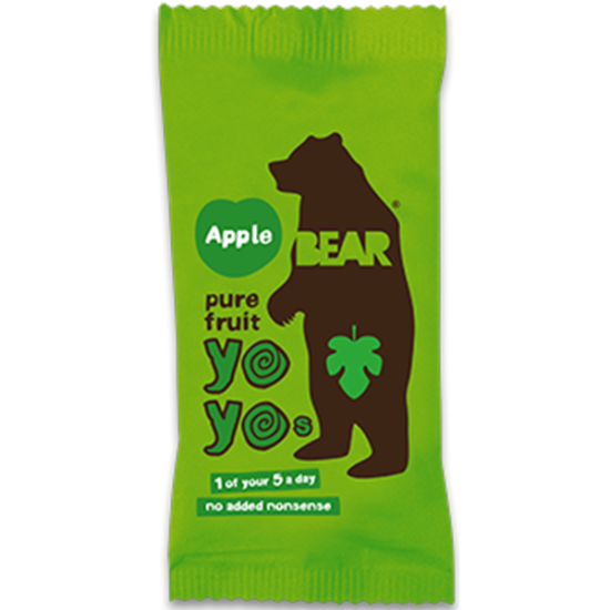 Bear Fruit Yo Yos Apple