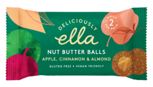 Deliciously Ella Nut Butter Ball Apple and Cinnamon