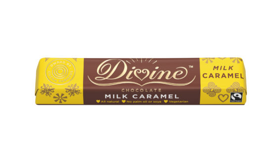 Divine Chocolate Caramel Milk Chocolate