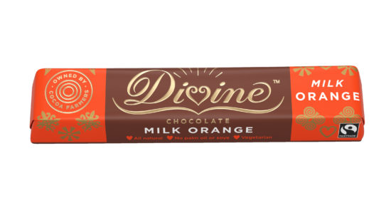 Divine Chocolate Orange Milk Chocolate