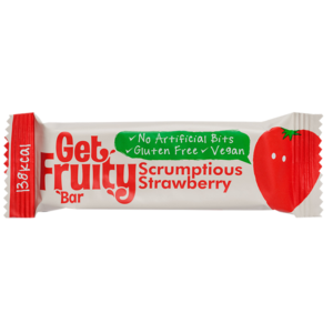 Get Fruity Energy Bar Scrumptious Strawberry