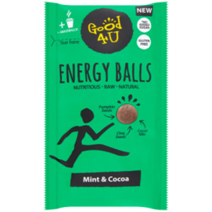 Good4U Energy Balls Mint & Cocoa