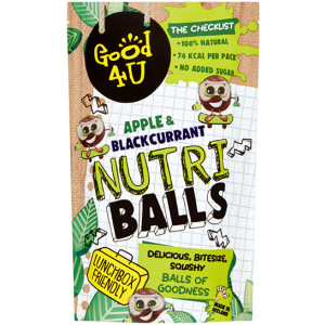 Good4U Nutriballs Apple & Blackcurrant