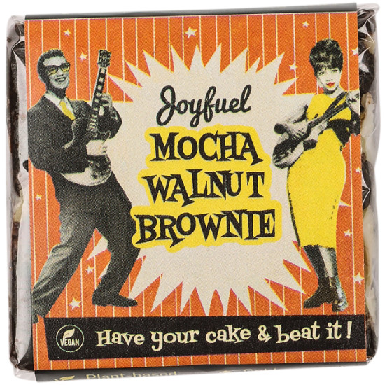 Joyfuel Energy Square Mocha Walnut Brownie