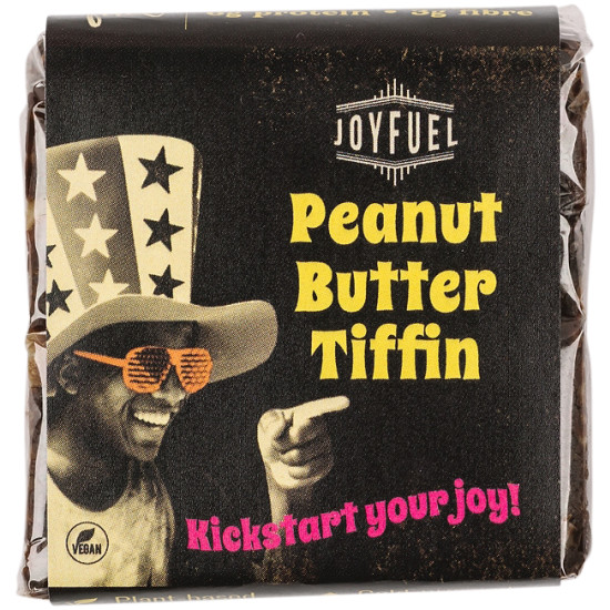 Joyfuel Energy Square Peanut Butter Tiffin