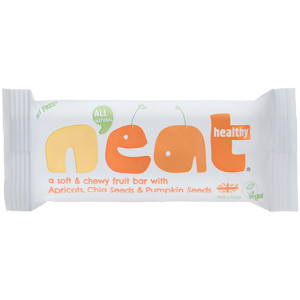 Neat Natural Energy Bars Apricots, Chia & Pumpkin Seeds