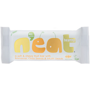 Neat Natural Energy Bars Bananas, Chia & Multi Seeds