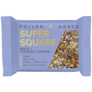 Pollen + Grace Super Square Maca & Coconut Caramel