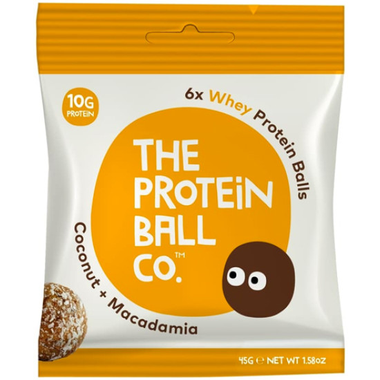 Protein Ball Co Vegan Coconut + Macadamia