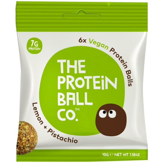 Protein Ball Co Vegan Lemon + Pistachio