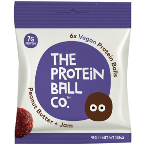 Protein Ball Co Vegan Peanut Butter + Jam