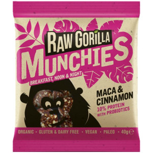 Raw Gorilla Energy Munchies Maca & Cinnamon