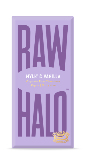 Raw Halo Mylk & Vanilla Organic Raw Chocolate 70g