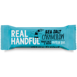 Real Handful Protein Trail Bar Sea Salt Caramellow