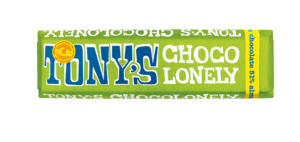 Tony's Chocolonely Dark Chocolate 51% Almond and Sea Salt