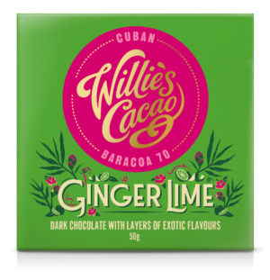 Willie's Cacao Ginger & Lime 70%