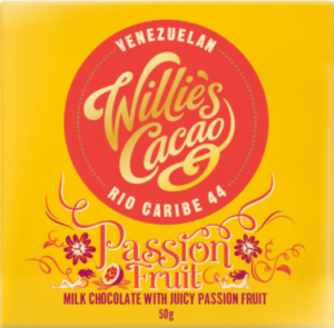 Willie's Cacao Milk Chocolate with Passion Fruit