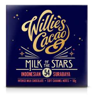 Willie's Cacao Milk of the Stars 54%