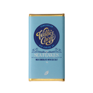 Willie's Cacao Sea Flakes Milk 44% 26g